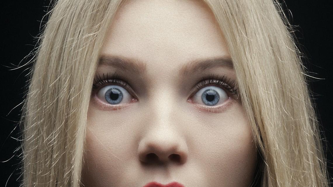 Shocked daughter