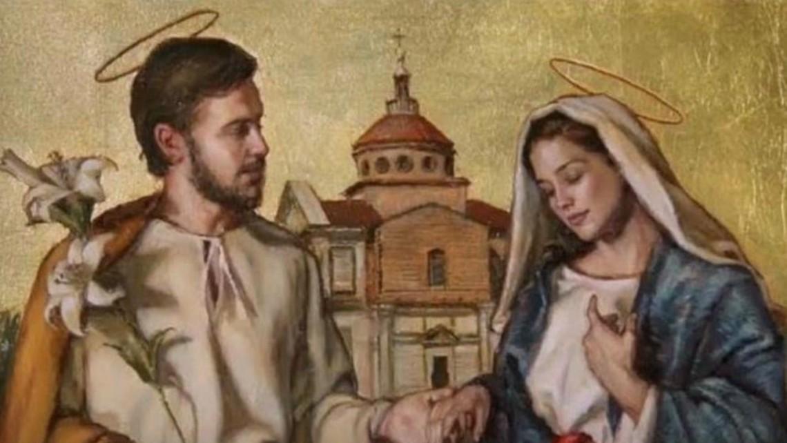 Mary and Joseph espousal